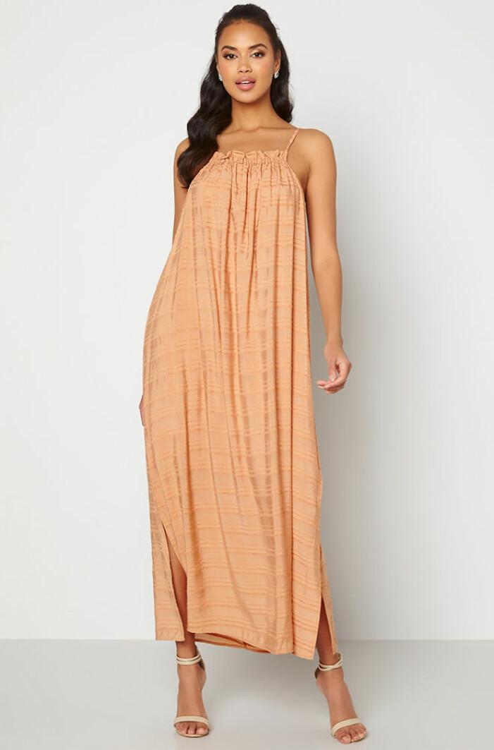orange vid klänning från object