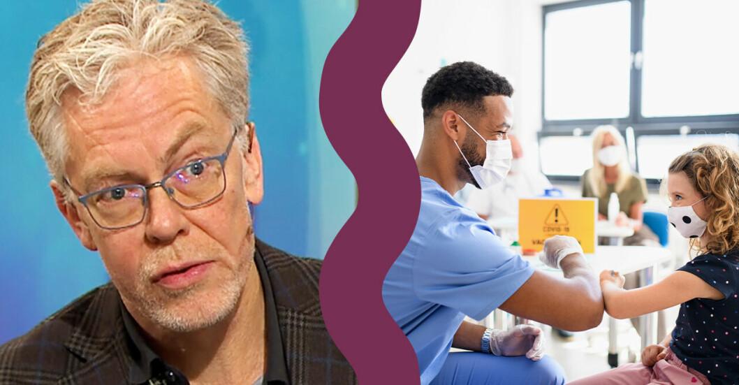 Henrik Arnell överläkare Astrid Lindgren barnsjukhus i Nyhetsmorgon