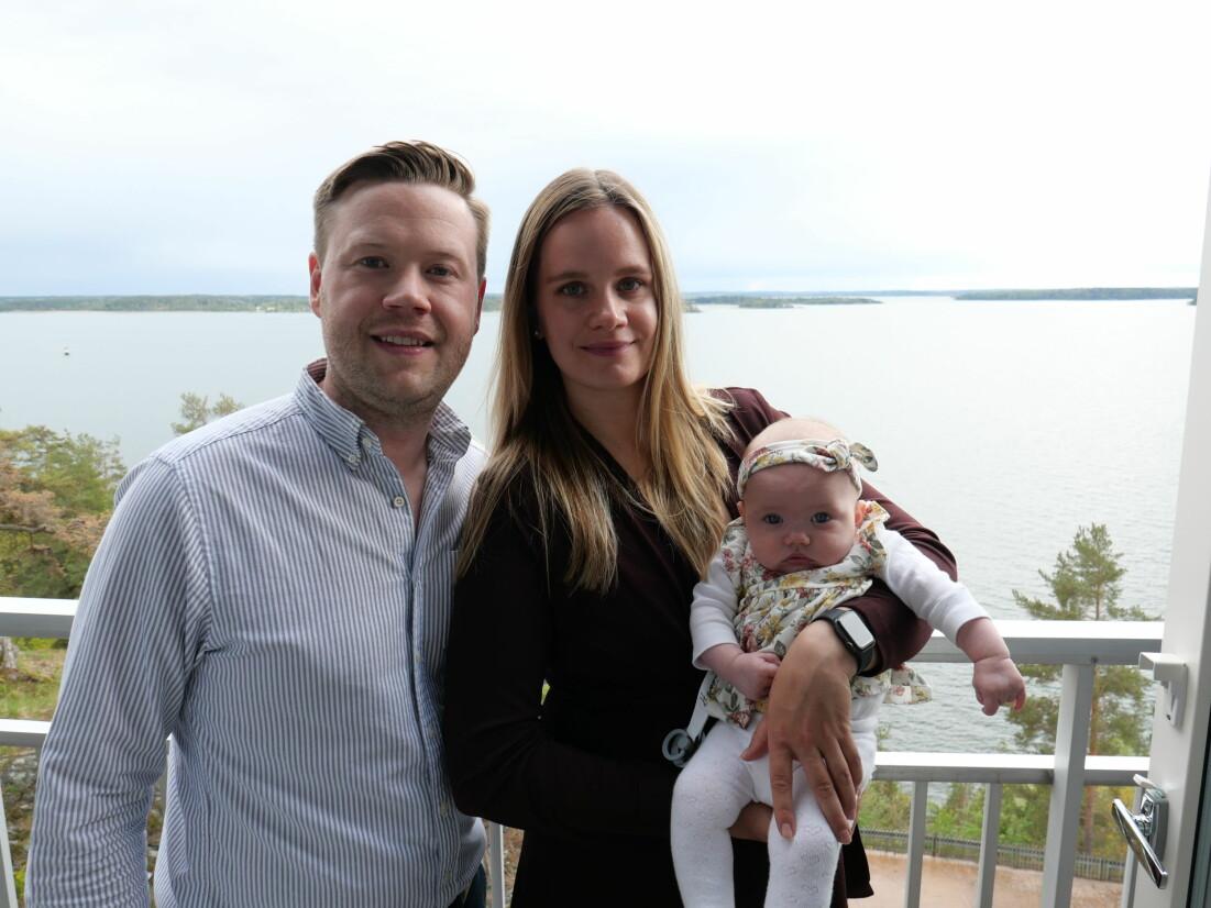 John, Emelie och Alicia