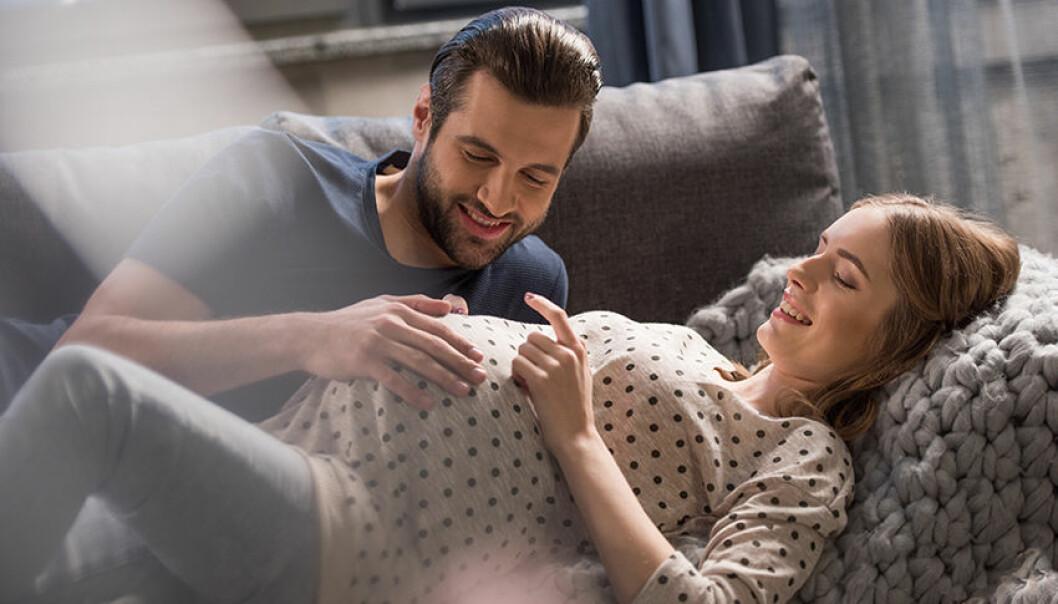 Så stöttar du din partner vid förlossningen