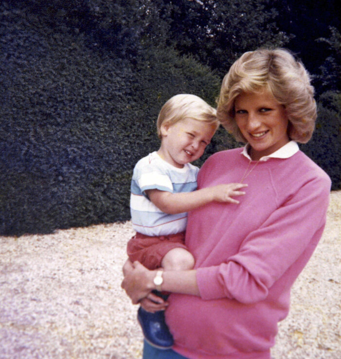 prinsessan Diana gravid med prins Harry