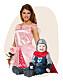 Prinsessklänning vuxen och riddare barndräkt