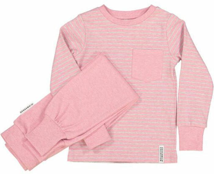 rosa pyjamas barn