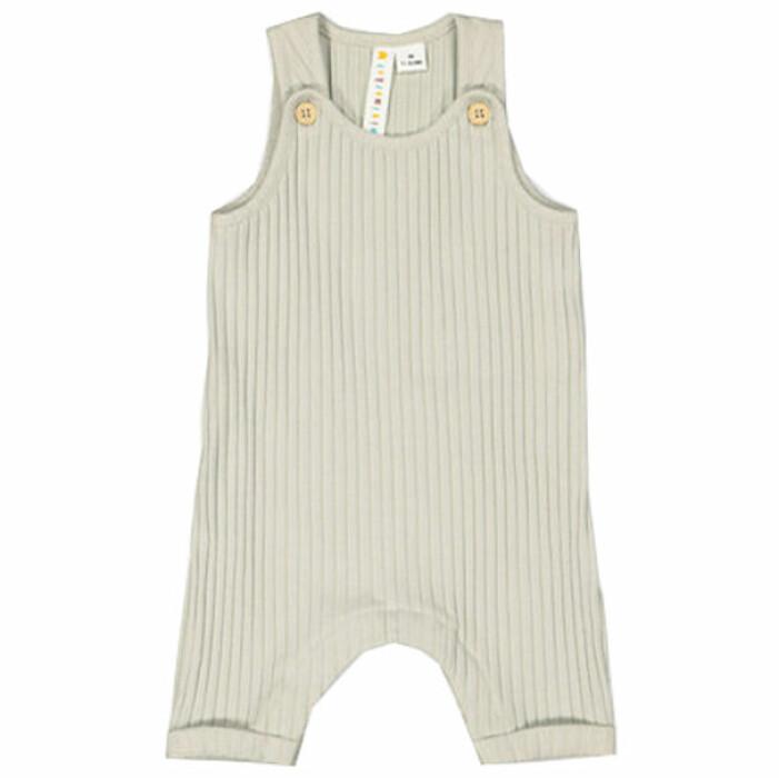billiga och fina barnkläder - ribbade hängselbyxor för bebis