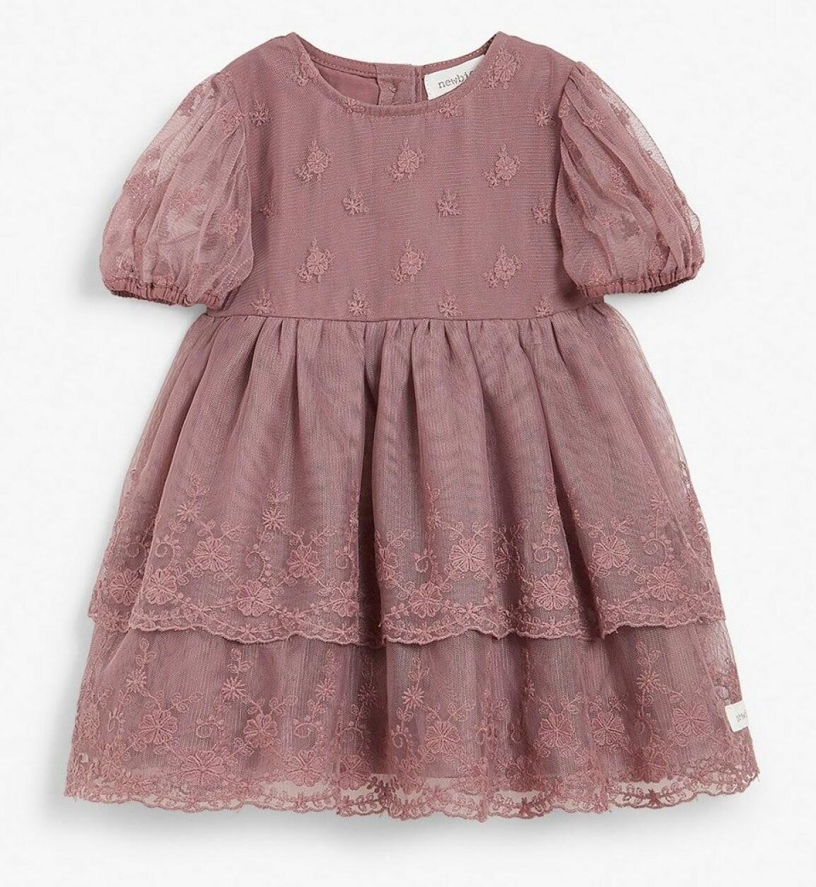 spetsklänning bebis nyår