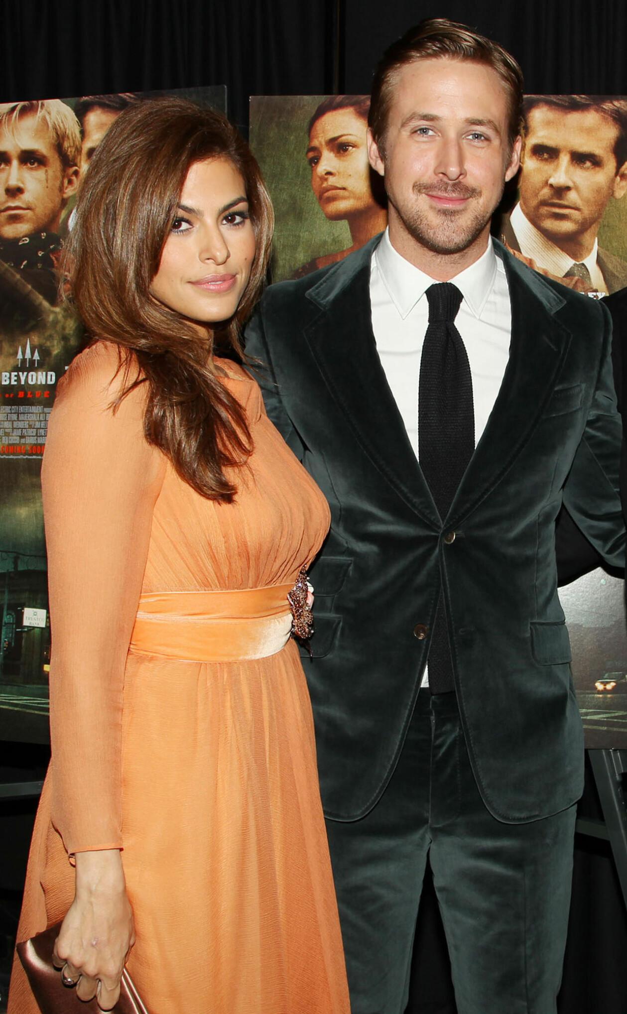 Eva Mendes och Ryan Gosling