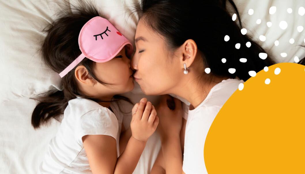 Så mycket sömn förlorar du under småbarnsåren