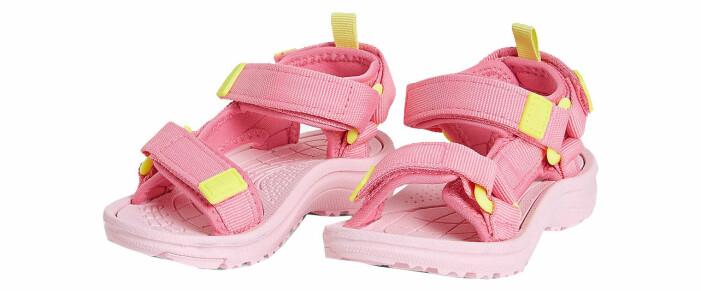 rosa sandaler barn