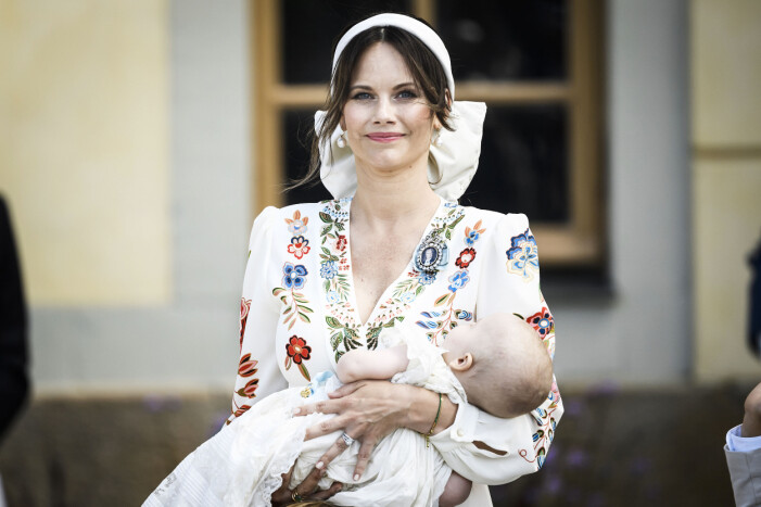 Prinsessan Sofia på sonen Julians dop