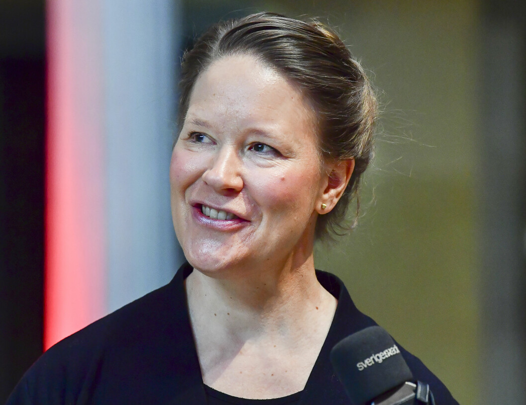 Charlotta Zacharias, läkare och expert på vaccin
