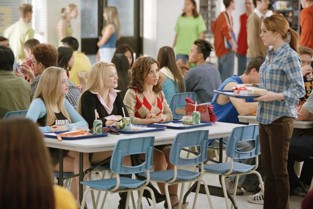 Mean girls i kafeterian