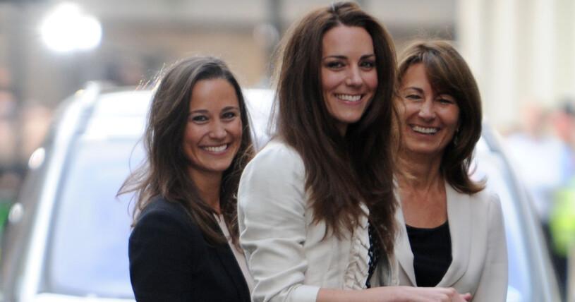Pippa Middleton, Kate Middleton och Carole Middleton
