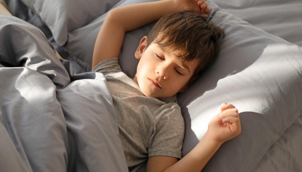 pojke som sover