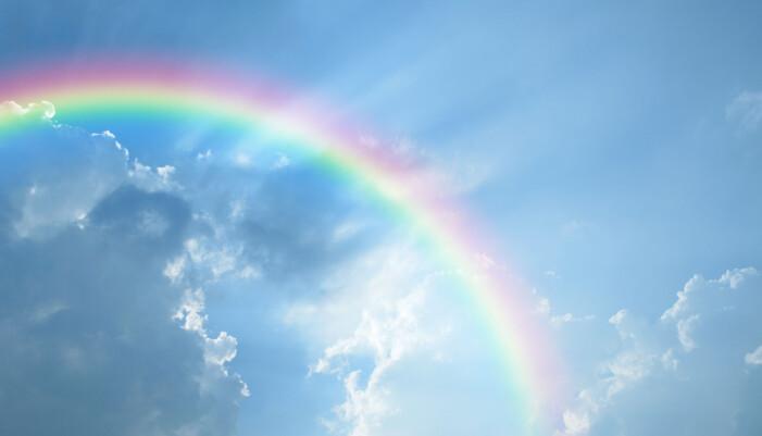 gåta om regnbågen