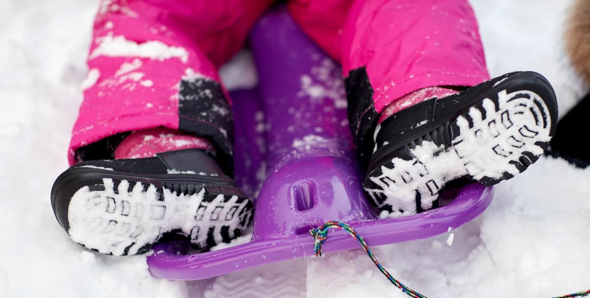 Rätt vinterskor till barn