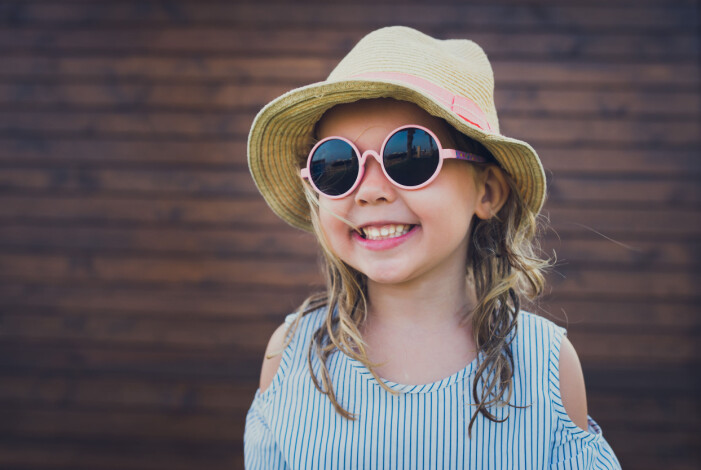 barn solglasögon uv-skydd
