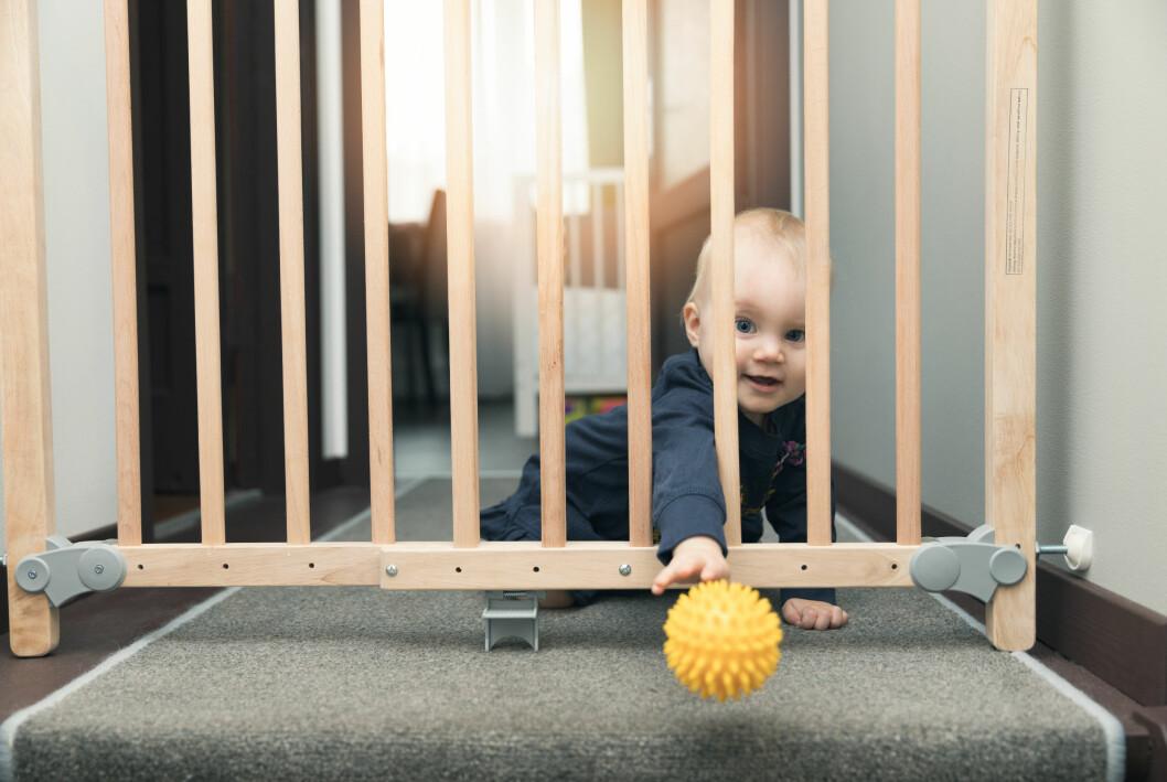 barn barngrind trappa trappgrindm