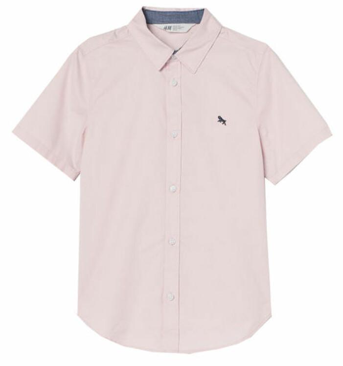 rosa skjorta barn