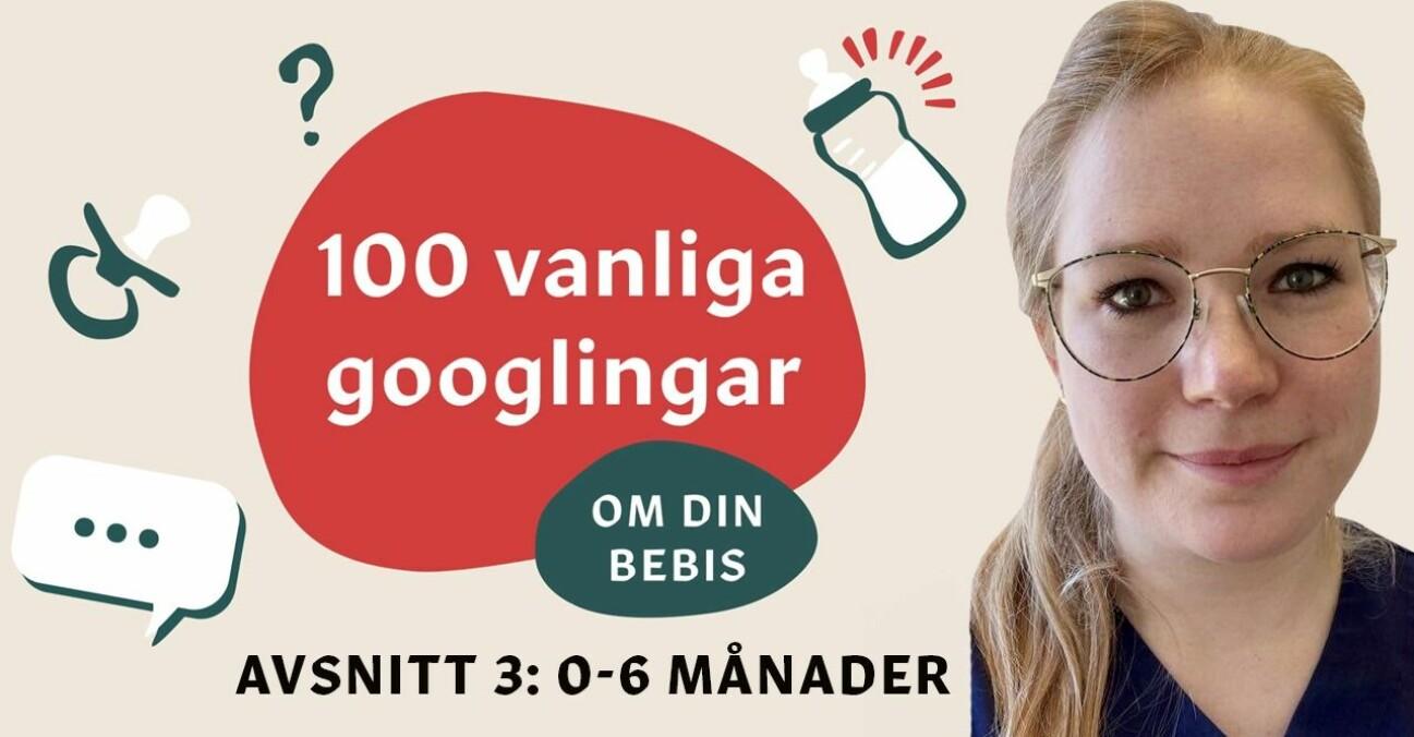 Sofie Guldbrand svarar på 10 vanliga frågor om barnets utveckling första tiden (0-6 månader).