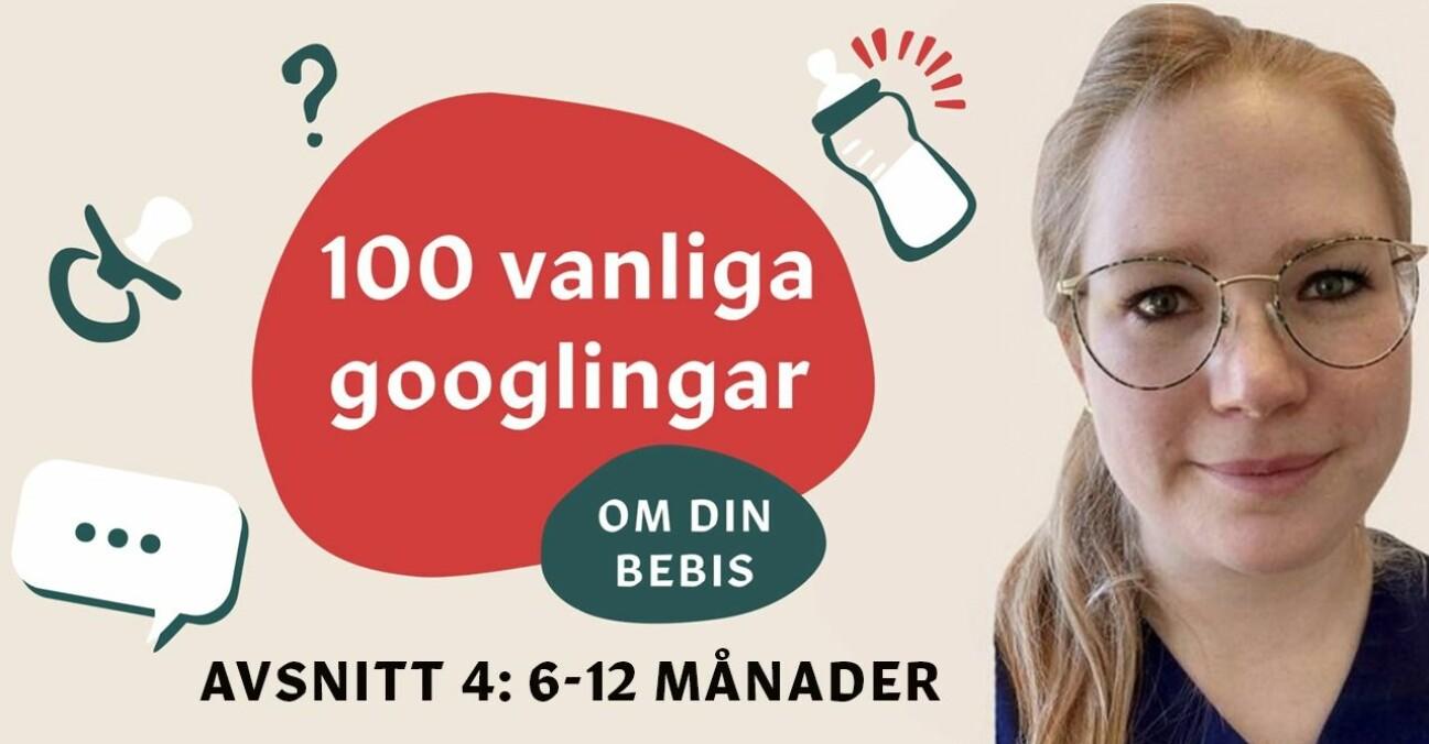 Sofie Guldbrand svarar på vanliga frågor om barns utveckling 6-12 månader