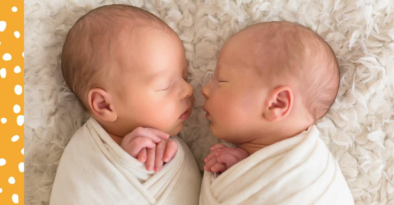 Sovande tvillingar