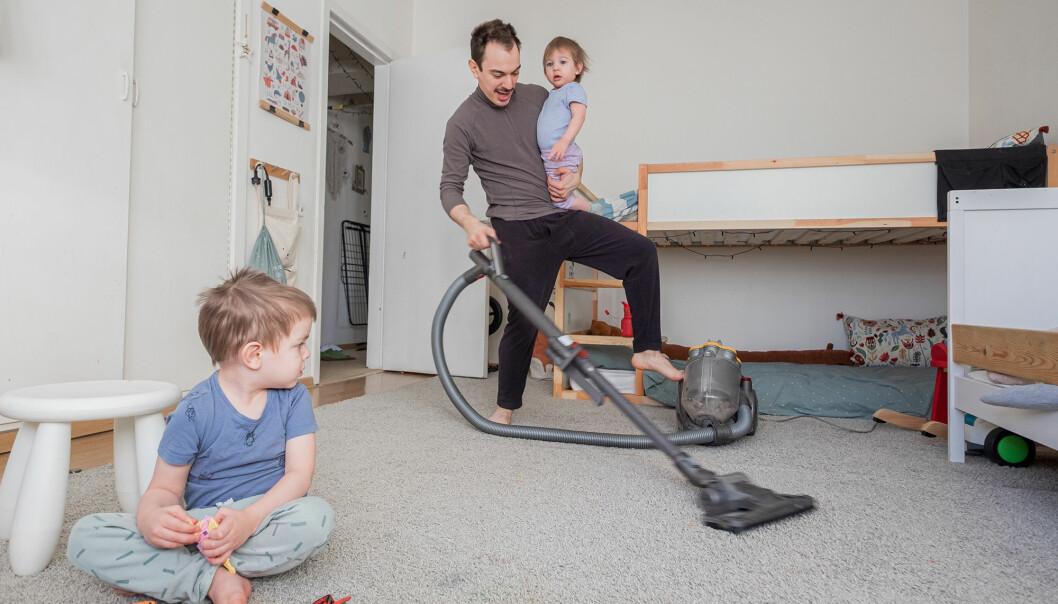 städning småbarnsfamilj