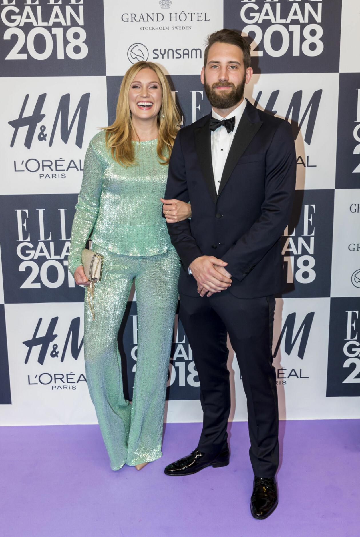 Jessica Almenäs och Patrik Fahlgren.