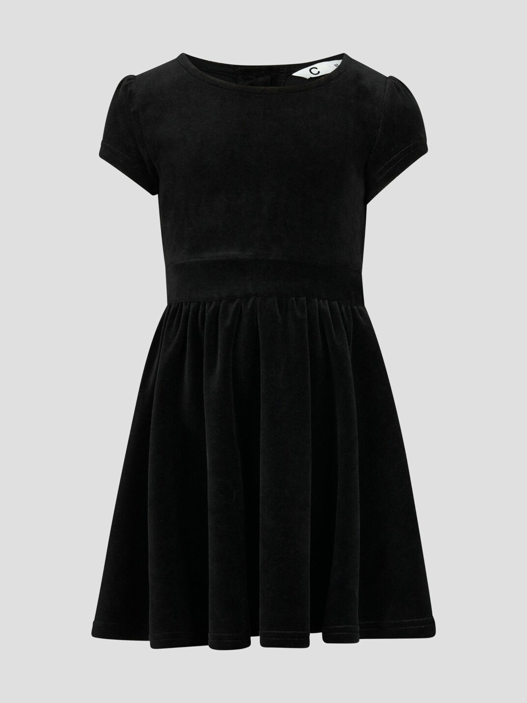 svart sammetsklänning nyår