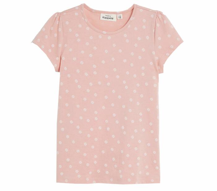 rosa tshirt barn