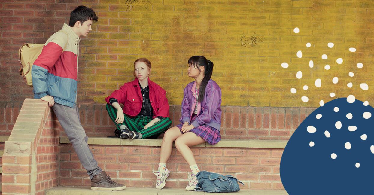 Sex Education är en populär tv-serie.