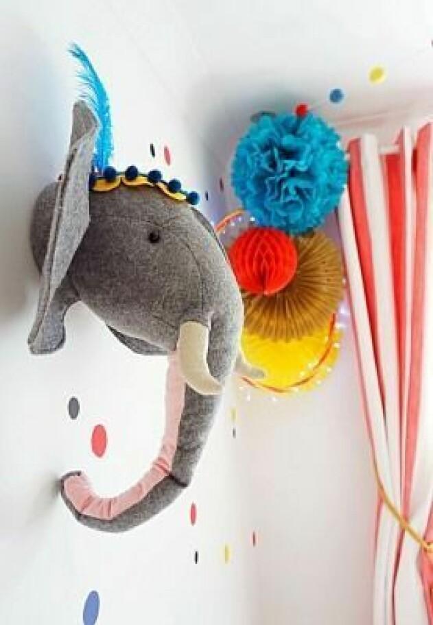 barnrum tema circus