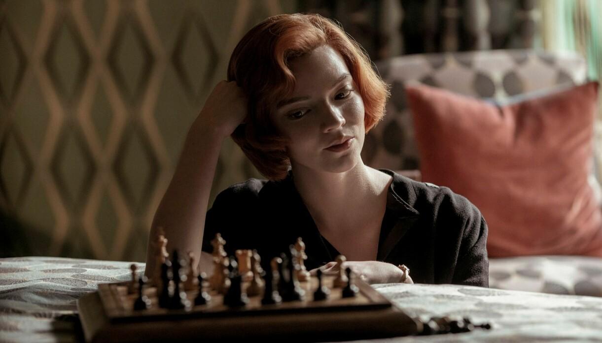 The Queen's Gambit på Netflix