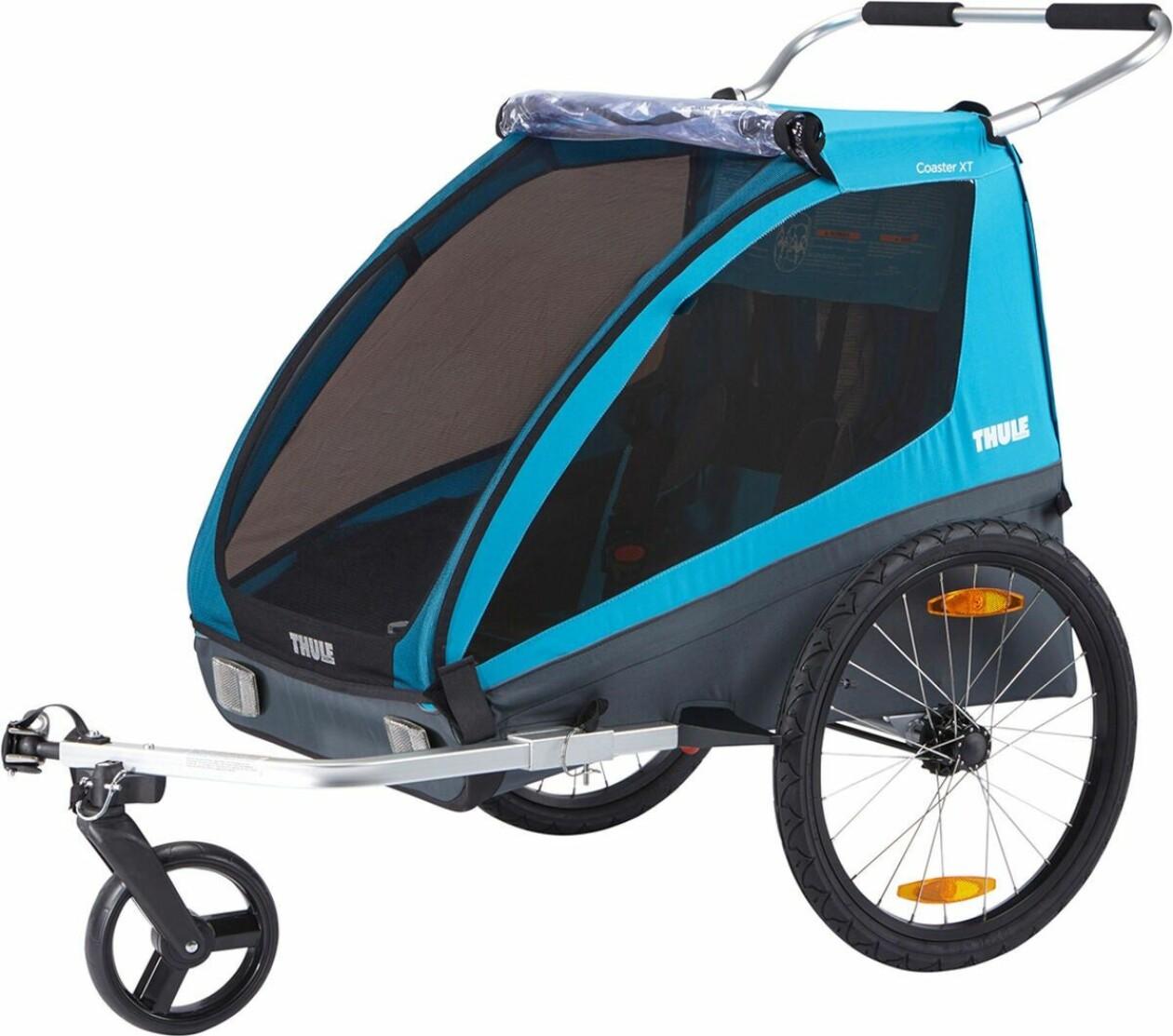 Thule Cykelvagn Coaster XT, Blue
