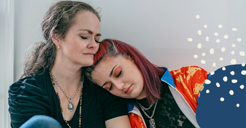 Synnöve och dottern Isabell.