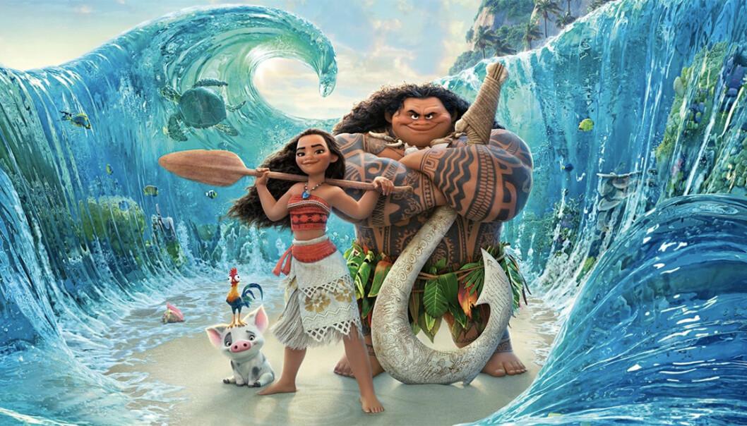 Moana i Disney-filmen Vaiana.