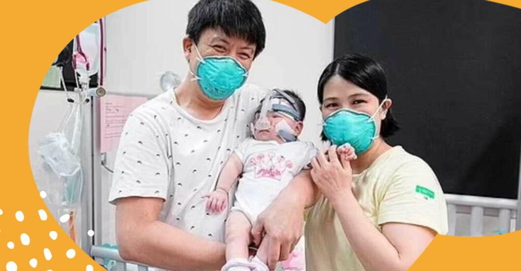 Kwek Yu Xuan, världens minsta bebis