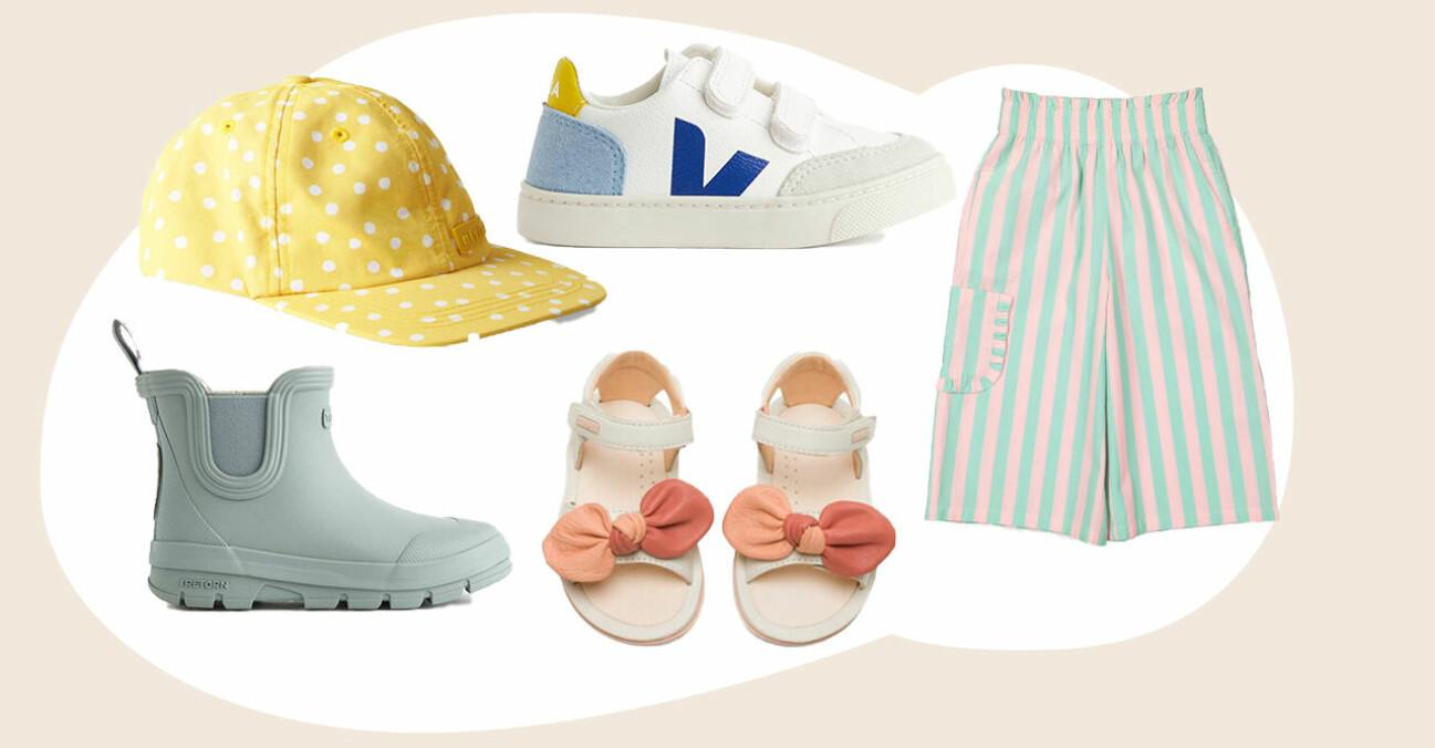 barnkläder för vår och sommar