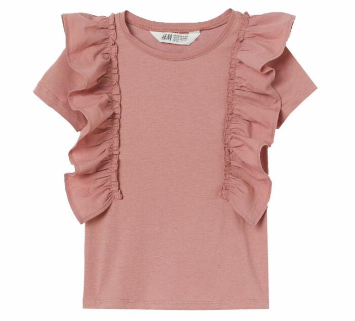 rosa barnkläder hm